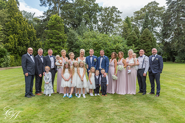Best Western York Burn Hall Hotel Wedding