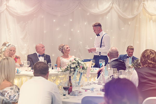York Burn Hall Hotel Wedding