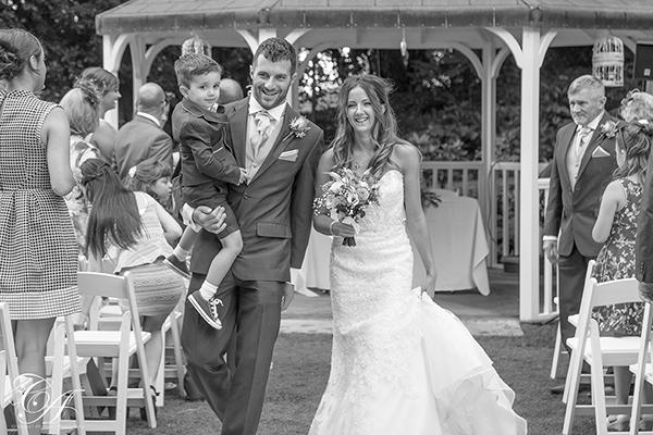 Outdoor Wedding Ceremony at York Marriott Hotel