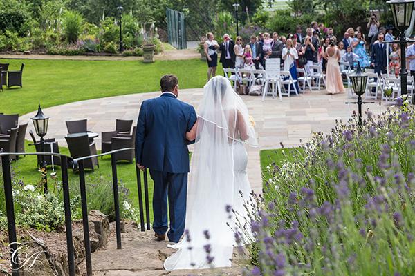 Outdoor Wedding at York Marriott Hotel