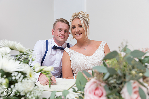 York Burn Hall Hotel Wedding Photography