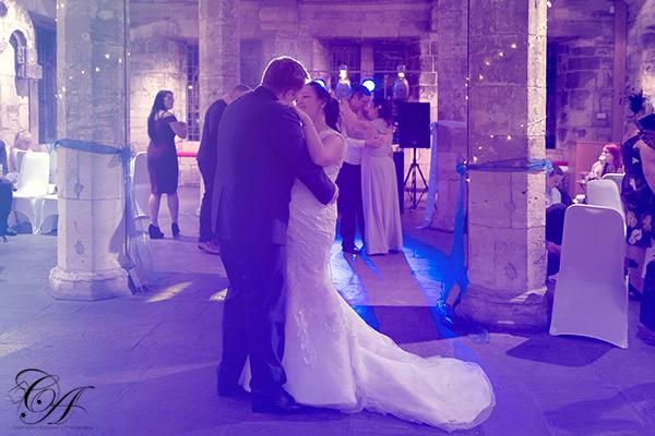 First dance at The Hospitium, York Wedding Photographer