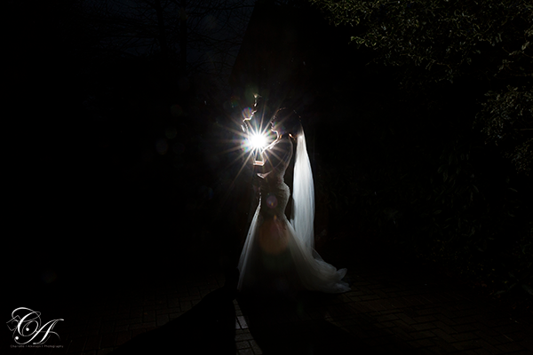 Evening Wedding Photography at York Registry Office