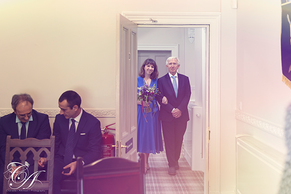 A Small Wedding Ceremony at York Registry Office