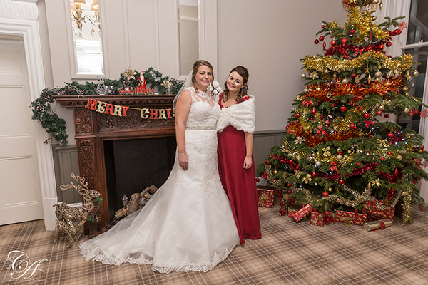 Burn Hall Christmas Wedding