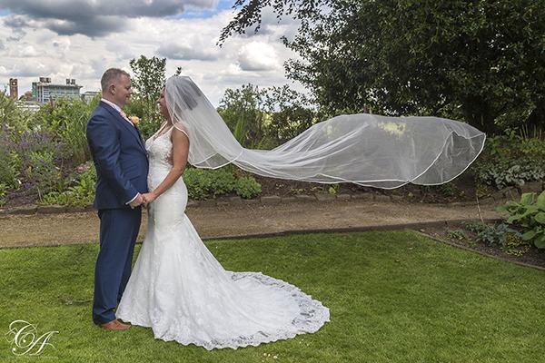 Wedding Photography from York Marriott Hotel
